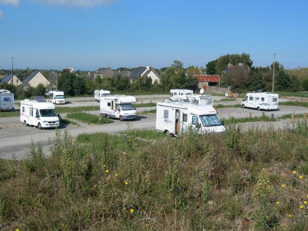 Aire De Service Pour Camping Car A Cancale