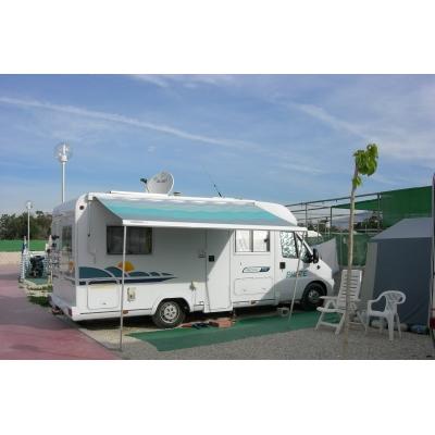 Camping el jardin aire de service pour camping car for Camping el jardin