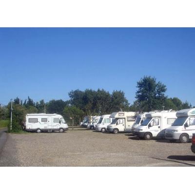 Aire Camping Car La Tamarissiere